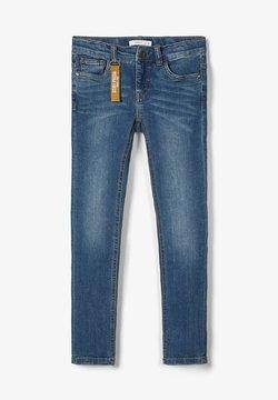Name it - POWERSTRETCH SKINNY FIT - Jeans Skinny Fit - dark blue denim