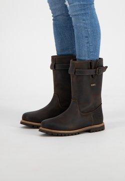 Travelin - ISLAND - Snowboot/Winterstiefel - dark brown