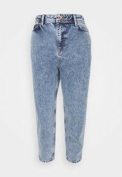 Noisy May Petite - JUNE RELAX  - Jeans baggy - medium blue denim