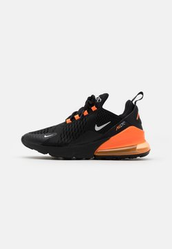Nike Sportswear - AIR MAX 270 - Sneaker low - black/metallic silver/total orange