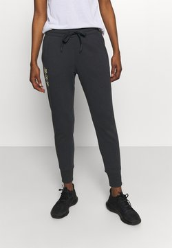 Under Armour - RIVAL PANTS - Jogginghose - black