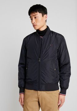 Tommy Hilfiger - PADDED BOMBER - Giubbotto Bomber - blue