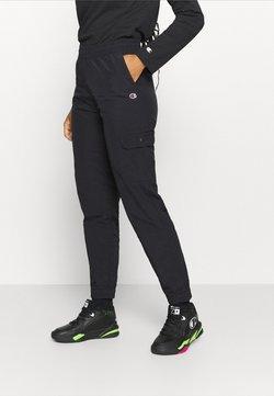 Champion - CARGO PANTS ROCHESTER - Verryttelyhousut - black