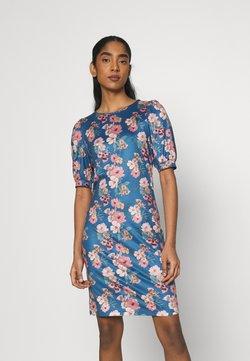 Vila - VIMOLNA DRESS - Jerseyjurk - mazarine blue