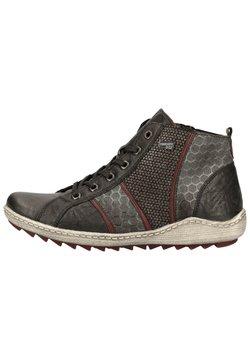 Remonte - Sneaker high - schwarz/asphalt/ 01