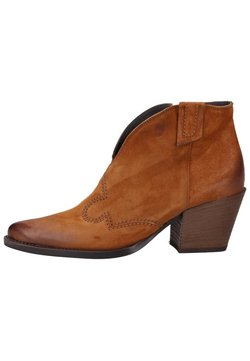 Paul Green - Ankle Boot - cognac