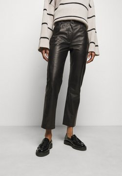 House of Dagmar - NAOKO - Pantalon en cuir - black