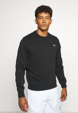 Lacoste Sport - CLASSIC - Sweatshirt - black