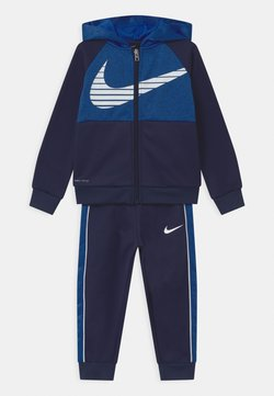 Nike Sportswear - COLORBLOCKED THERMA SET - Veste de survêtement - midnight navy