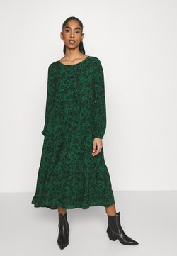 Even&Odd - Freizeitkleid - green/black