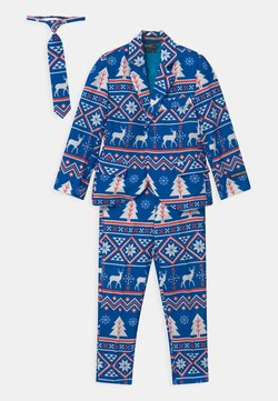 Suitmeister - BOYS CHRISTMAS NORDIC SET - Kostuum - blue