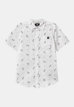 Converse - SHORT SLEEVE BUTTON UP UNISEX - Vapaa-ajan kauluspaita - white