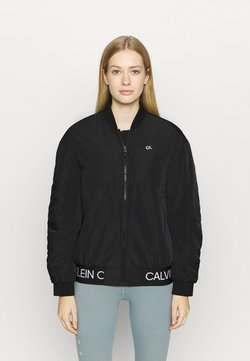 Calvin Klein Performance - PADDED JACKET - Verryttelytakki - black