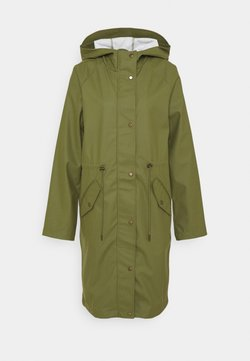 ONLY Tall - ONLRIE RAINCOAT - Waterproof jacket - capulet olive