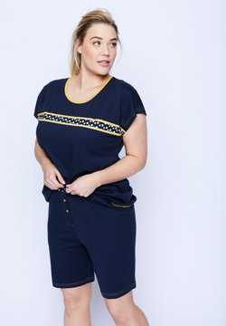 Ulla Popken - Pyjama - bleu marine