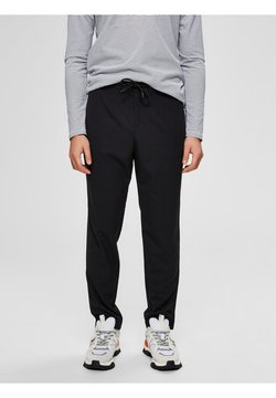 Selected Homme - ELEGANTE  - Stoffhose - black