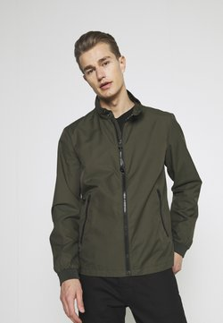 Marc O'Polo - JACKET REGULAR FIT STAND UP COLLAR - Leichte Jacke - dried herb