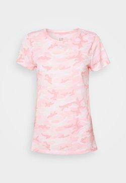 GAP - FAV CREW - Camiseta estampada - pink