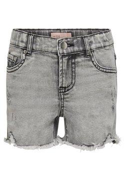 Kids ONLY - KONKIDS HW - Jeansshort - medium grey denim
