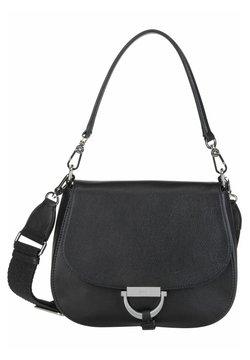 Abro - Handtasche - black/nickel