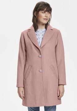 Cream - RAVENCR  - Classic coat - old rose