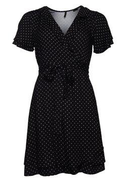 Superdry - Day dress - black 70s geo