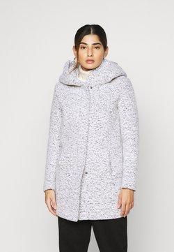 ONLY Petite - ONLNEWSEDONA COAT - Classic coat - cloud dancer melange