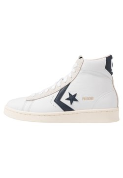 Converse - PRO LEATHER - Sneakers hoog - white/obsidian/egret