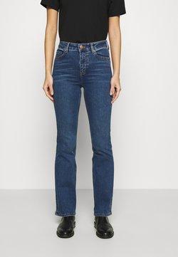 Marks & Spencer London - EVA - Jean bootcut - blue denim