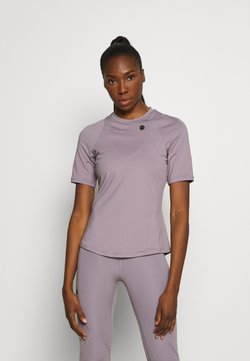 Under Armour - RUSH - T-Shirt print - slate purple