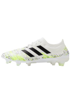 adidas Performance - COPA 20.1 FG - Fußballschuh Nocken - footwear white/core black/signal green