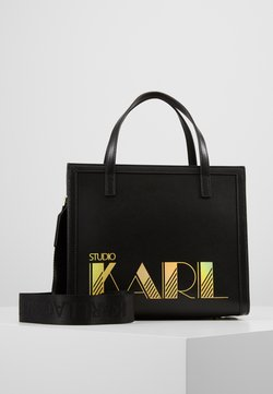 KARL LAGERFELD - SMALL TOTE - Handtasche - black