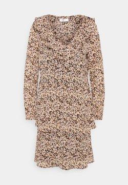 Moss Copenhagen - MERILA RIKKELIE DRESS  - Freizeitkleid - black