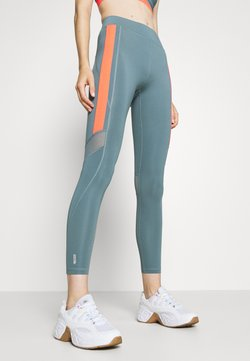 ONLY Play - ONPSULA TRAINING - Tights - goblin blue/fiery coral