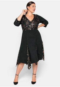 Sheego - Cocktailkleid/festliches Kleid - schwarz
