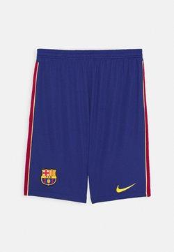 Nike Performance - FC BARCELONA UNISEX - Pantalón corto de deporte - deep royal blue/varsity