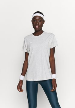 Hummel - GO WOMAN - T-shirt print - egret melange