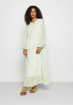 Selected Femme - SLFGEORGIA DRESS - Maxikleid - young wheat