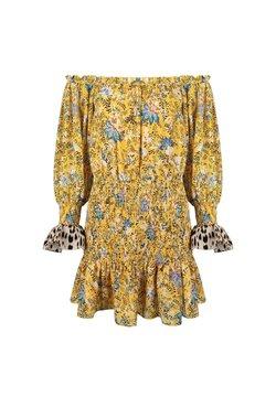 Jacky Luxury - Korte jurk - flower print