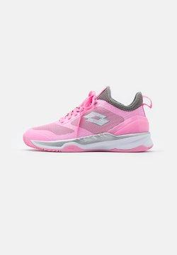 Lotto - MIRAGE 200  - Tennisschoenen voor kleibanen - pink/all white/cool gray