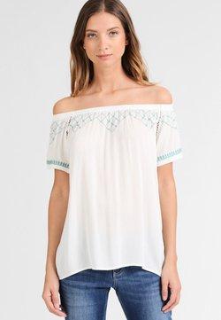 DreiMaster - T-Shirt print - wollweiß