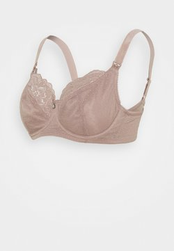 Cake Maternity - TIMTAMS FLEXI WIRE NURSING BRA - Beugel BH - taupe
