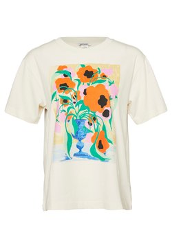 Monki - TOVI TEE - T-shirts print - white
