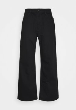 NU-IN - GALLUCKS X NU IN COLLECTION WIDE LEG  - Jeans Relaxed Fit - black