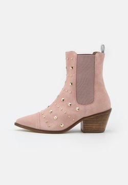 Copenhagen Shoes - BALL SPRING - Botki kowbojki i motocyklowe - rose blossom
