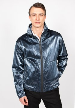 Freaky Nation - STEELBASE - Windbreaker - steel blue