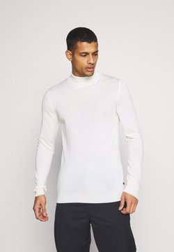 Matinique - PARCUSMAN - Strickpullover - off-white