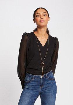 Morgan - Langarmshirt - black