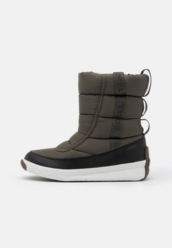 Sorel - OUT ABOUT PUFFY MID MATTE RIPS - Snowboot/Winterstiefel - khaki