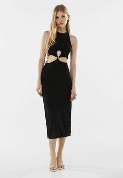 Bershka - MIT CUT-OUTS - Cocktailkleid/festliches Kleid - black